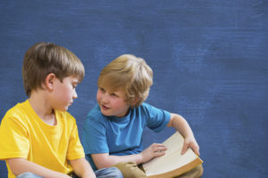 logopedia niños conversando